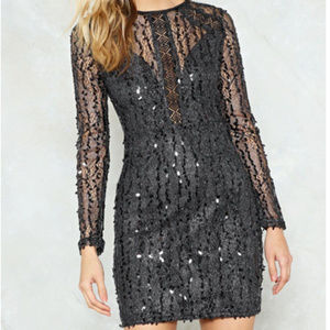 NASTY GAL- Good Times Only Dress